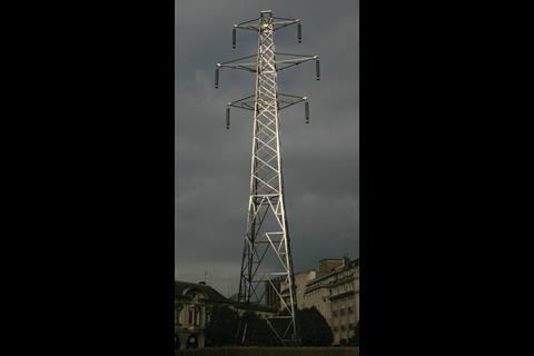 Giant pylon